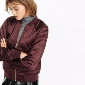 NWT 💗💗💗 Express quilted bomber jacket